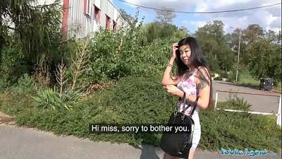 Agente pública asiático caliente ama mierda gallo