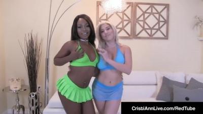 Cristi Ann – Video porno de lesbianas interraciales