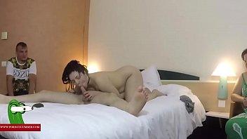 Algunos amigos calientes fiesta de sexo – Orgía xxx