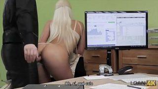 LOAN4K – Ella está teniendo sexo con el dueño de la tienda
