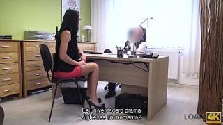 Chica que viene a entrevista de trabajo y sexo en la oficina – porno sub espanol